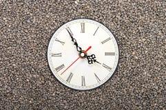 Clocks in rocks. Stock Photography