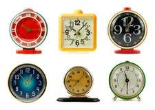 clocks samlingen Royaltyfri Foto
