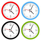 Clocks set Royalty Free Stock Image