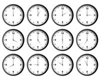 Clocks Set Stock Images