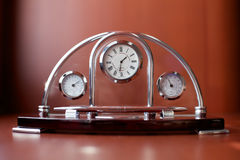 Clocks on the table Royalty Free Stock Images