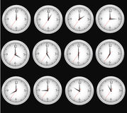 Clocks time Stock Image