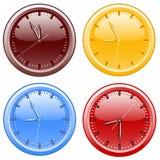 Clocks. vector illustration Royalty Free Stock Photo