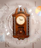 Clocks with world time and finance business concept Stock Photo
