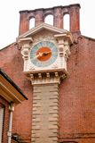 Clocktower στο πίσω μέρος της αίθουσας ανεξαρτησίας στοκ εικόνες