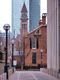 clocktower Τορόντο στοκ εικόνες