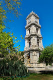 Clocktower. Of Dolmabahce Palace in Istanbul, Turkey Royalty Free Stock Photography