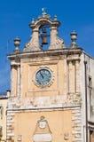 Clocktower. Acquaviva delle Fonti. Puglia. Italy. Royalty Free Stock Photography