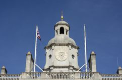 Clocktower on Admiralty Building. London. England Stock Images