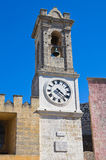 Clocktower. Alessano. Puglia. Italy. Royalty Free Stock Image