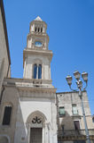 Clocktower. Altamura. Apulia. Royalty Free Stock Images