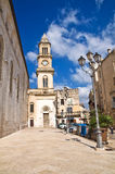 Clocktower. Altamura. Puglia. Italy. Stock Images