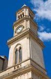 Clocktower. Altamura. Puglia. Italy. Stock Photography