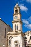 Clocktower. Altamura. Puglia. Italy. Stock Images