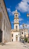 Clocktower. Altamura. Puglia. Italy. Stock Photo