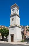 Clocktower. Barletta. Puglia. Italy. Stock Image