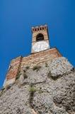 Clocktower. Brisighella. Emilia-Romagna. Italië. Stock Foto's