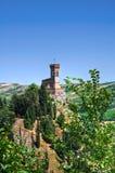 Clocktower. Brisighella. Emilia-Romagna. Italien. Stockfotos