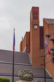 Clocktower of the british library Royalty Free Stock Photography