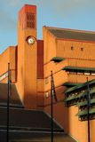 Clocktower of British Library, London, England, UK Stock Photo