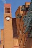 Clocktower of British Library, London, England, UK Stock Images