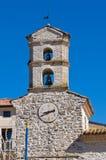 Clocktower. Cancellara. Basilicata. Italy. Stock Images