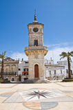 Clocktower. Ceglie Messapica. Puglia. Italy. Stock Photo