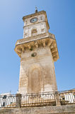 Clocktower. Ceglie Messapica. Puglia. Italy. Stock Images