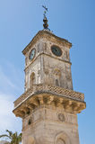 Clocktower. Ceglie Messapica. Puglia. Italy. Stock Photos