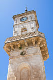 Clocktower. Ceglie Messapica. Puglia. Italy. Royalty Free Stock Image
