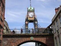 clocktower chester стоковое фото rf