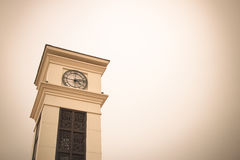 Clocktower. The clock tower in somewhere Stock Photography