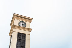 Clocktower. The clock tower in somewhere Royalty Free Stock Photography
