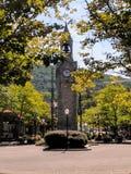 Clocktower. Early fall sunny day Royalty Free Stock Photo