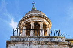 Clocktower. Conversano. Puglia. Italy. Stock Image