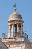 Clocktower. Conversano. Puglia. Italy. Royalty Free Stock Photos