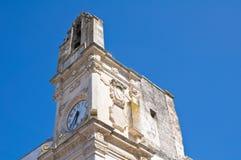 Clocktower. Corigliano d'Otranto. Puglia. Italy. Royalty Free Stock Images