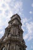 Clocktower de palais de Dolmabahce Images libres de droits
