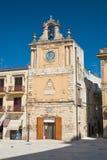 Clocktower Delle Fonti d'Acquaviva La Puglia l'Italie Photographie stock
