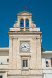 Clocktower Di Bari di Sammichele La Puglia L'Italia Immagini Stock