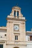 Clocktower Di Bari di Sammichele La Puglia L'Italia Fotografia Stock