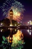 Clocktower di Spokane Fotografia Stock Libera da Diritti