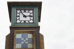 Clocktower of Falaise in Hastings Stock Images