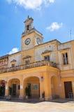 Clocktower. Fasano. Puglia. Italy. Royalty Free Stock Photography