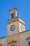 Clocktower. Fasano. Puglia. Italy. Stock Photos