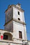 Clocktower. Francavilla Fontana. Puglia. Italy. Royalty Free Stock Image