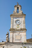 Clocktower. Francavilla Fontana. Puglia. Italy. Royalty Free Stock Photos