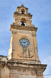 Clocktower. Galatone. Puglia. Italy. Royalty Free Stock Image