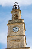 Clocktower. Ginosa. Puglia. Italy. Royalty Free Stock Photo
