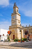 Clocktower. Ginosa. Puglia. Italy. Royalty Free Stock Photos